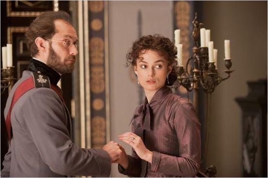 """Jude Law et Keira Knightley dans """"Anna Karenine"""""""
