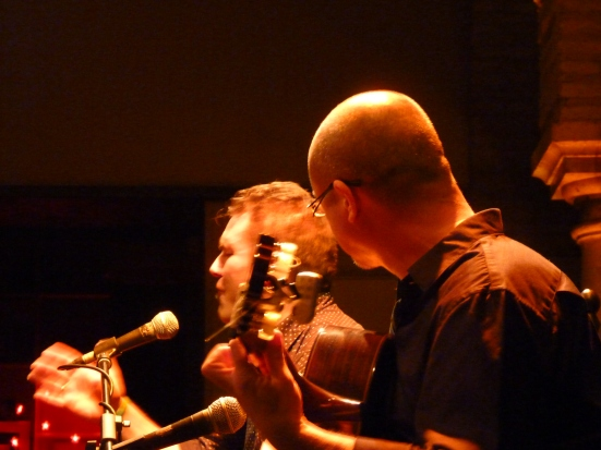 Chanteur & guitariste, Museo del baile flamenco, SEVILLE