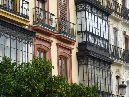 Les façades de Séville