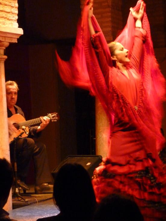 Silvia de Paz, Museo del baile flamenco, SEVILLE