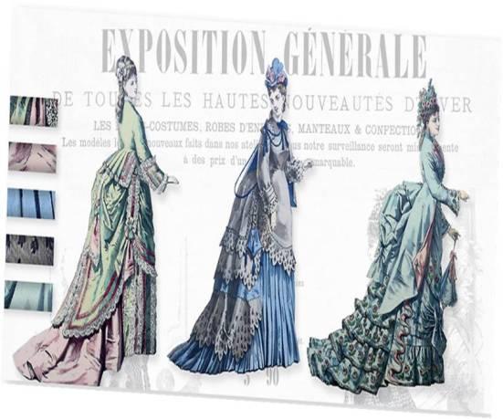 Gravures de mode parisienne