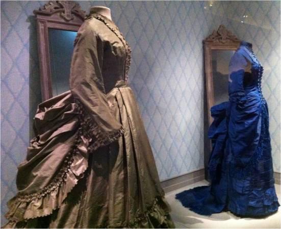 Robes de parisiennes, XIXe siècle