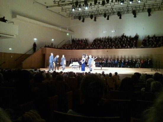 Concert à la salle Pleyel, Paris