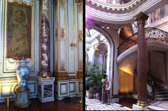 Le grand Salon et l'escalier d'honneur
