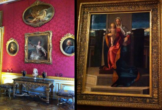 Le Salon des peintures et fresque de Tiepolo, 1745: Henri III reçu à la Villa Contarini