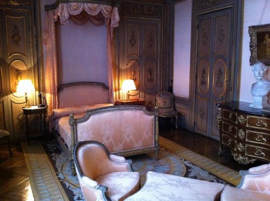 La chambre d'Edouard André décorée par sa femme Nélie Jacquemart