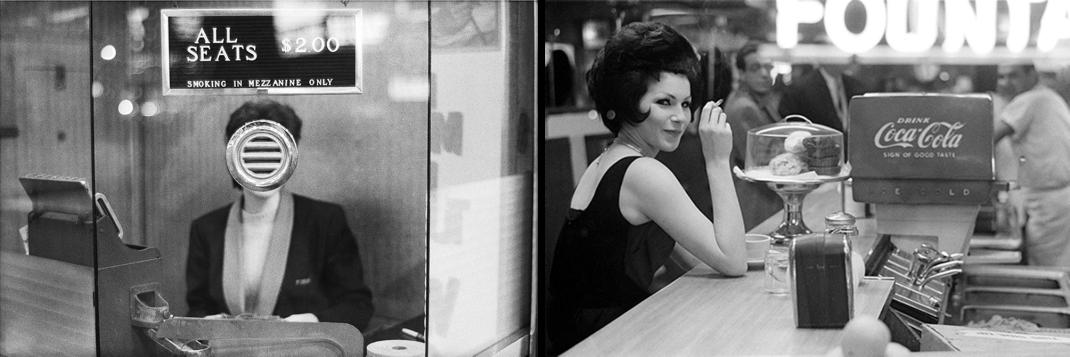 Joel Meyerowitz, noir & blanc