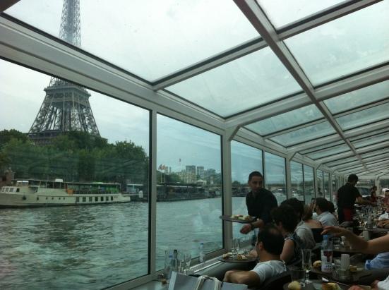 """Paris depuis la péniche """"Paris en scène"""""""