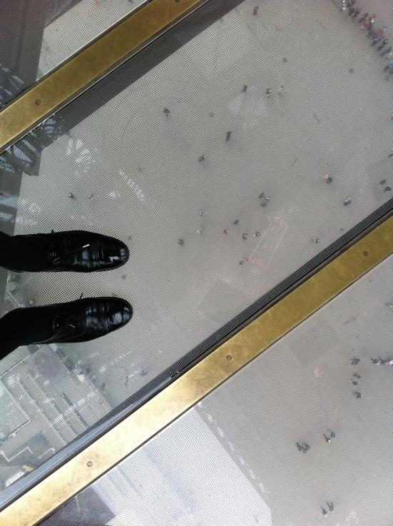 Plancher vitré de la Tour Eiffel, Paris