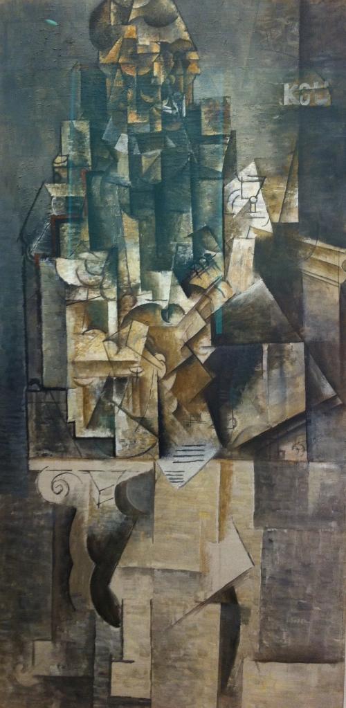 Homme la guitare, Picasso, 1911-1913