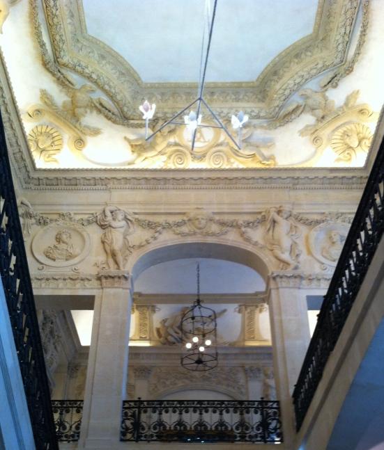 Intérieur de l'hôtel Salé, Paris