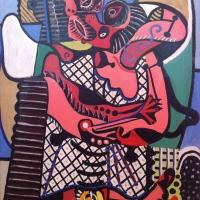 La palette de couleurs de Picasso