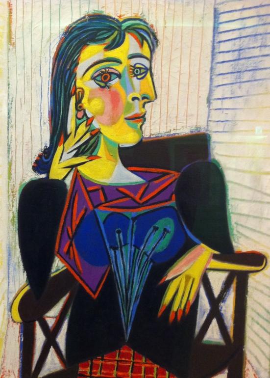 Portrait de Dora Maar, Picasso, 1937