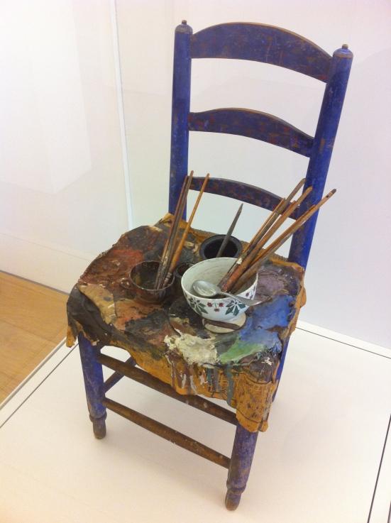 Chaise palette de Picasso