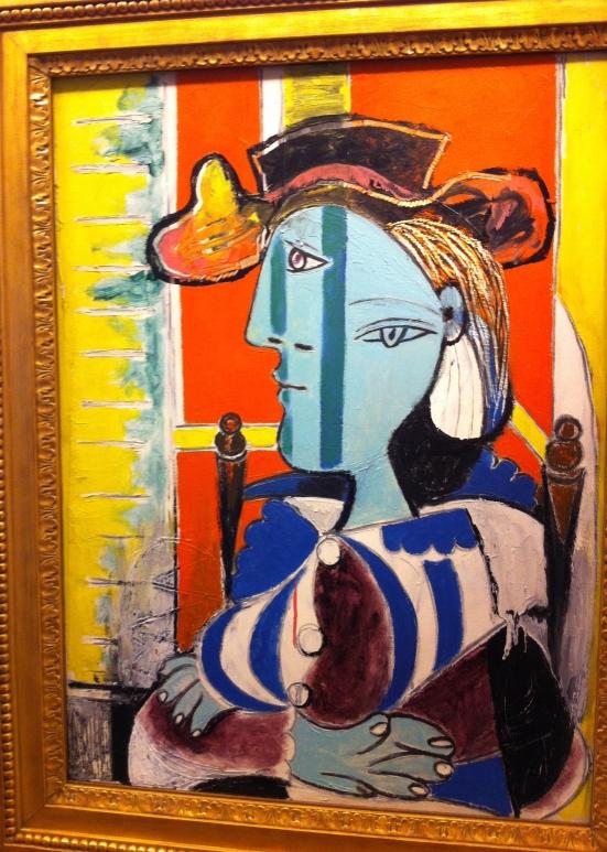 Femme assise aux bras croisés, Picasso, 1937