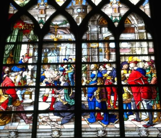 Vitrail de l'église Saint-Gervais, Paris
