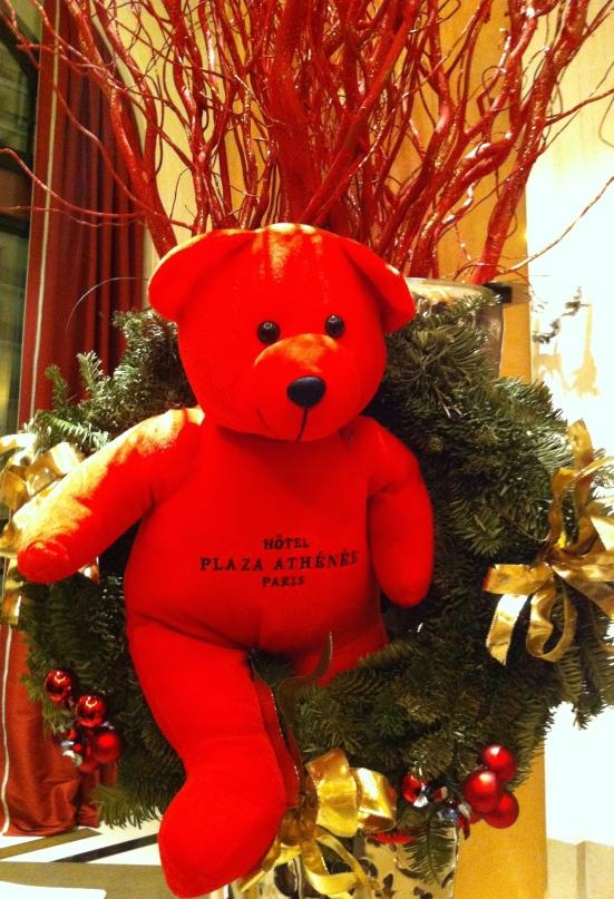 L'ours du Plaza Athénée