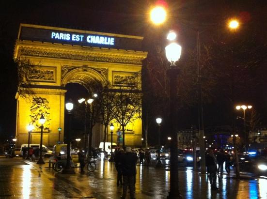 Paris est toujours Charlie