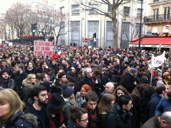 La marche républicaine, le 11 janvier 2015 à Paris