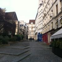 Rue des Barres à Paris