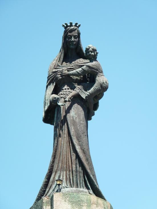 La Vierge à l'enfant, Villa Jovis