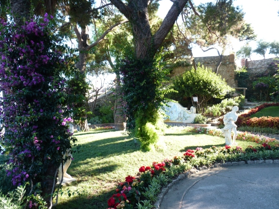 Les jardins d'Auguste, Capri
