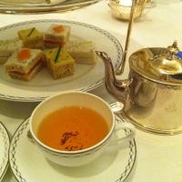 L'heure du thé au Peninsula