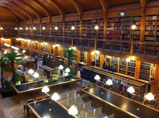 Bibliothèque de l'hôtel de ville de Paris