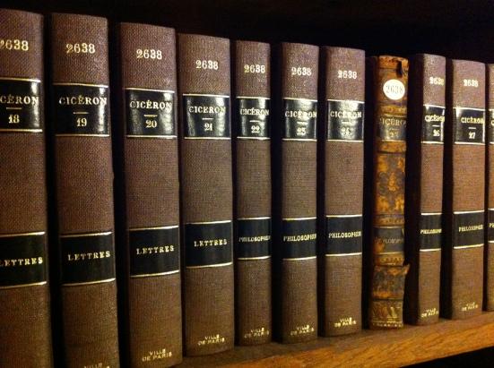 Lettres de Cicéron, Bibliothèque de l'hôtel de ville de Paris