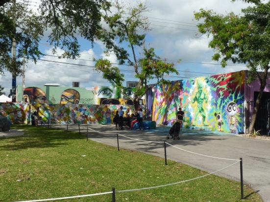 """Espace """"Wynwood walls"""", Miami"""