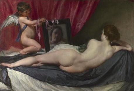 La Vénus au miroir, Velazquez, 1647-1651