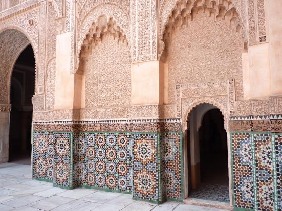 La medersa Ben-Youssef, Marrakech