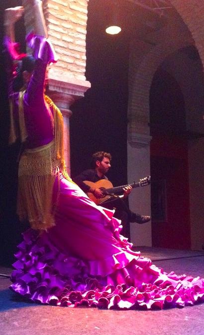 Rosa Belmonte et Juanma Torres, Museo del baile flamenco, Séville