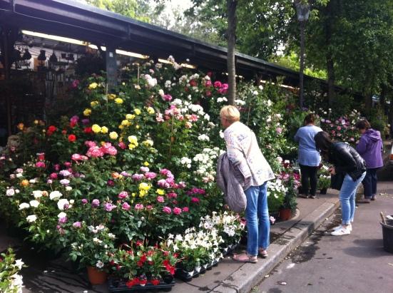 Marché aux fleurs Elisabeth II, Paris