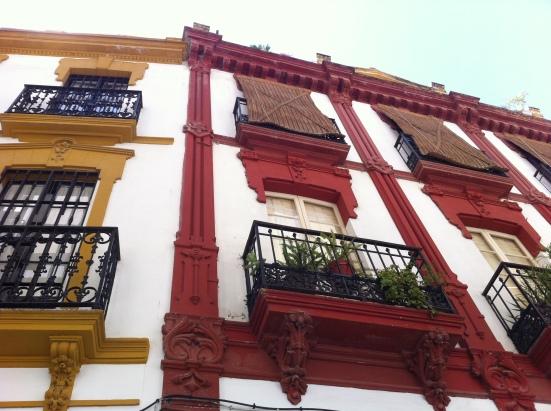 Rue à Séville