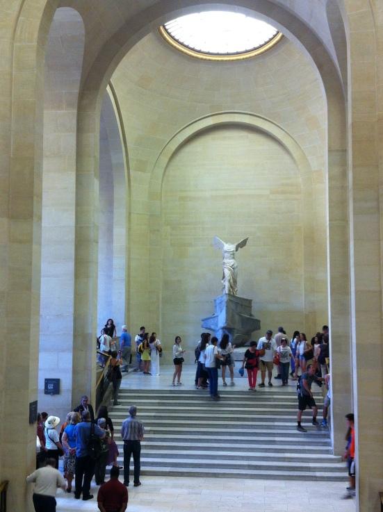 La Victoire de Samothrace, escalier Daru, Musée du Louvre, Paris