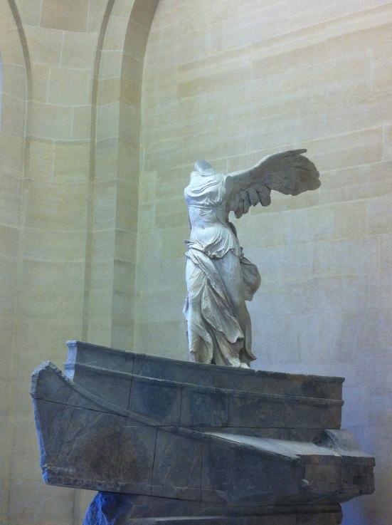 La Victoire de Samothrace, Musée du Louvre, Paris