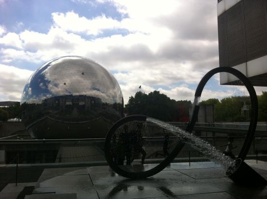 La Géode, Cité des Sciences, Parc de la Villette, Paris