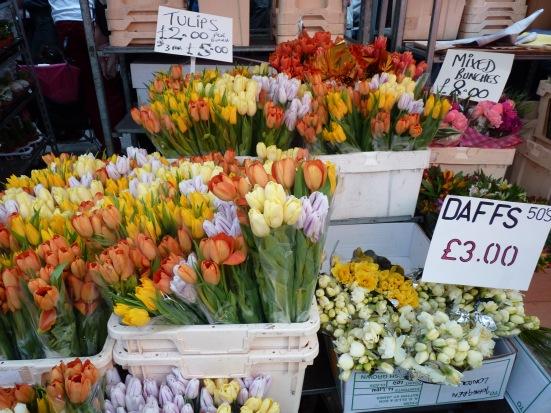 Marché aux fleurs de Londres, Colombia Road