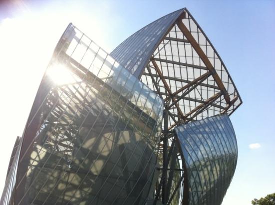 Fondation Louis Vuitton, bois de Boulogne