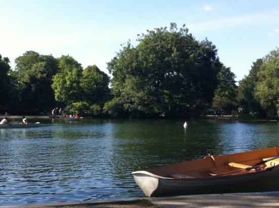 Bois de Boulogne, Lac inférieur