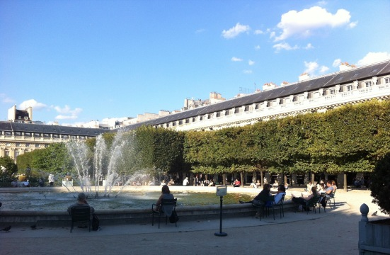 Jardin du Palais-Royal, Paris