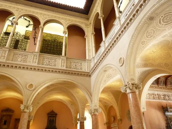 Patio intérieur, Villa Ephrussi de Rothschild
