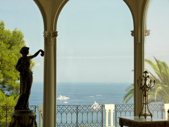 Vue du grand salon, Villa Ephrussi de Rothschild