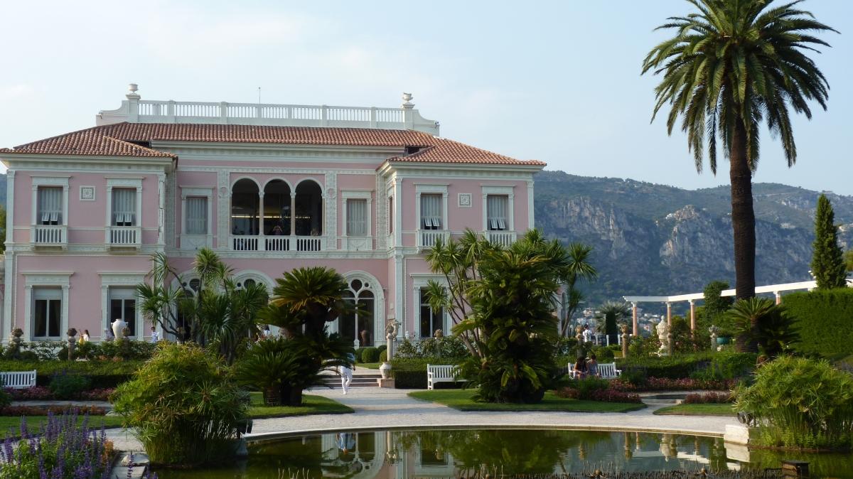 Un palais sur la mer