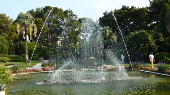 Jeux d'eau, Villa Ephrussi de Rothschild