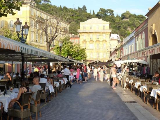 Le cours Saleya, Nice