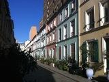 Une rue parisiennebucolique