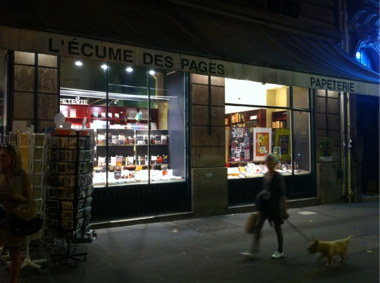 L'écume des pages, Paris