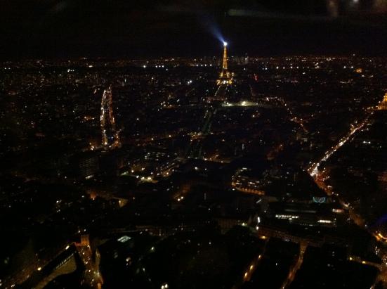 Paris depuis le 56e étage de la Tour Montparnasse